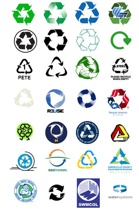 photograph regarding Recycle Signs Printable called Maximum Style and design Recommendations Recycle Emblem Shots, And Drive